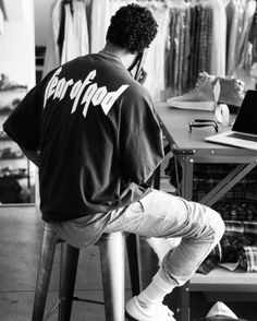 http://chicerman.com  billy-george:  Jerry Lorenzo of Fear of God  #streetstyleformen