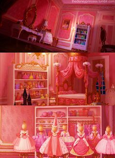 "Who else loved Charlotte La Bouff's room in Disney's ""The Princess and the Frog""? Description from pinterest.com. I searched for this on bing.com/images"