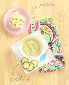 Pretty. Delicious. [Baby Food]: Zucchini Potato | Vera Bradley