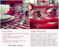 Segnaposti di Natale christmas Jar place card DIY how to snowman jar with sourprise /biscuits