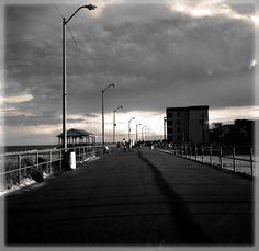 The 'macadam boardwalk' Sea Isle City, NJ