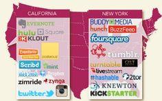 Silicon Valley vs. Sillicon Alley