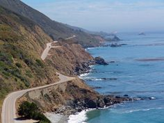 Pacific Coast Highway!  Yup this Florida flatland loving girl drove the PCH...both hands on the wheel and praying all the way to Carmel!