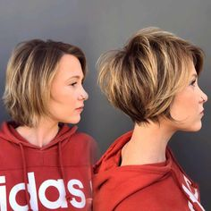 Easy short hairstyles for women are controversial this year. The bowl cut is one of the most controversial hairstyle trends of the Modern Short Hairstyles, Short Hair Styles Easy, Short Hair Cuts For Women, Cool Hairstyles, Halloween Hairstyles, Wedding Hairstyles, Natural Hairstyles, Short Highlighted Hairstyles, Short Summer Hairstyles