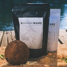 A-WARE Hanfprotein CCN Fiber Delicate caramel with the sweet power of coconut blossom