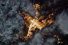 Reno, Nevada, at Night : Image of the Day : NASA Earth Observatory