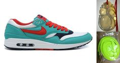 Chalcedony Dragon Volt Lace Womens Nike Air Max 1 Retro Sport Red White Shoes