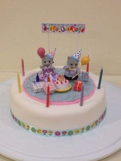 Sylvanian Families Birthday Cake
