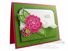 Best wishes by ilinacrouse - Cards and Paper Crafts at Splitcoaststampers