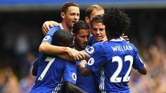Match Report: Chelsea 3-0 Burnley, 27 Aug 16