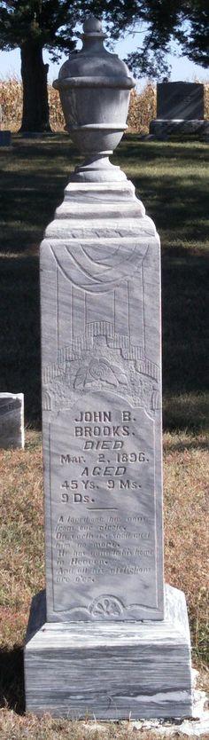 John B Brooks (1850 - 1896) - Find A Grave Photos