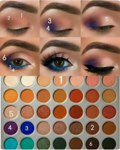 Makeup Tips : Makeup look using the Morphe Jaclyn Hill Eyeshadow Palette. – Make… Makeup Tips : Makeup look using the Morphe Jaclyn Hill Eyeshadow Palette. – Makeup Jet – Home of Beauty Inspiration Love Makeup, Makeup Inspo, Makeup Inspiration, Beauty Makeup, Makeup Looks, Beauty Tips, Makeup Ideas, Beauty Hacks, Amazing Makeup