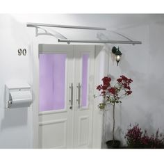 Aquila 1500 Door Canopy in Grey – Next Day Delivery Aquila 1500 Door Canopy in Grey