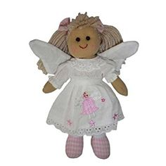 Powell Craft Small Handmade Angel Rag doll - Makes a great birthday or christmas gift by Powell Craft