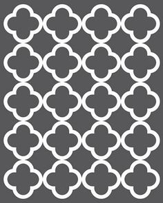 I whipped up a lovely grey quatrefoil pattern for you to use for whatever tickles your fancy - be it scrapbooking, a background for a fun photo frame collage, cutting labels out of it, making it your blogging background, or a birthday invite - just have fun with it!