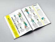 Highlife on Behance. Illustrations for British Airways inflight magazine Highlife UK.