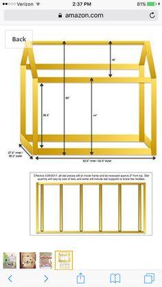 bonnesoeurs design lit maison house bed dimensions taille single size enfants pinterest. Black Bedroom Furniture Sets. Home Design Ideas