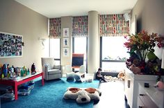 the boo and the boy: playrooms - nice colours