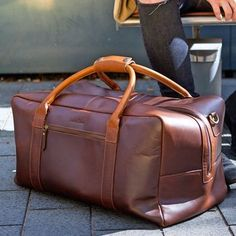 Leather Holdall Bag 'Pioneer'
