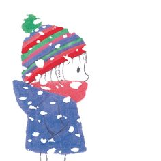 Children's Designer and Book illustrator - Kids Packaging and Baby illustration. Sweet Drawings, Doodle Drawings, Winter Illustration, Illustration Art, Fairytale Art, Cute Cartoon Wallpapers, Watercolor Cards, Christmas Art, Poster
