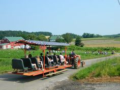 Kid quotient: Families will delight in spending a day in the country.  Fun factors: Country-style restaurant, vegetable and fruit markets, opportunities to pick your own fruit, petting zoo, playgrounds, and pumpkin patch and hayrides in fall. Don't miss: Take a farm tour on a tractor-drawn wagon, and learn about growing, pruning, storage and packing of fruit. You'll also get a chance to pick your own produce and taste Baugher's apple cider.  Info:  baughers.com, 1015 B...