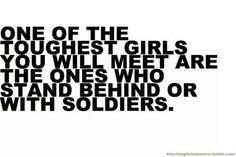 Military wife, military girlfriend