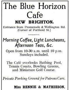 Advert Miniature Golf, New Brighton, Afternoon Tea, Liverpool, Random, Water, Gripe Water, Casual