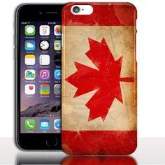 "Coque iPhone 7 Drapeau Canada ( Silicone|Rigide) - Coque Telephone Apple 4.7"""