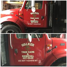 92dfb57c7f Walker Tree Care had us do their new truck! Give them a call for any