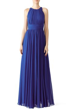 Rent Corundum Sapphire Gown by Badgley Mischka for $70 only at Rent the Runway.