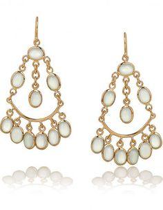 Boucles d'oreilles chandelier en plaqué or Isharya BO - Bijoux : 50 envies faciles et colorées - Elle