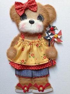 Sweet Summer Girl Tear Bear Scrapbook Paper Piecing ELITE4U 3PAPERWISHES | eBay
