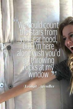 bridgit mendler- rocks at my window lyrics