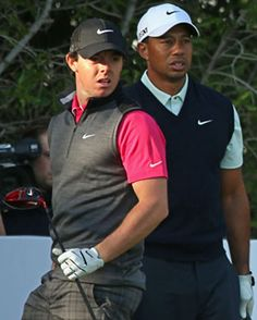 Swing Sequence: Tiger Woods and Rory McIlroy