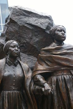 Abolitionists Emily and Mary Edmonson (Edmonson Plaza, Alexandria, VA)  To read more on these  two sisters visit http://en.wikipedia.org/wiki/Edmonson_sisters
