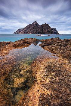 Calheta Beach, Porto Santo, Madeira Island Portugal