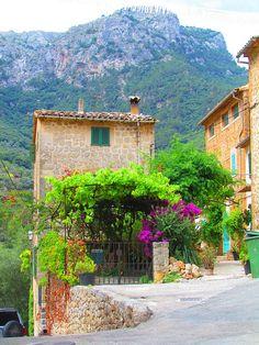 Spain.  Deià, Mallorca, Balearic Islands. Photograph by twiga_swala, via Flickr. Photograph taken June 2011.