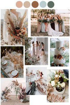 September Wedding Colors, October Wedding Colors, Elegant Wedding Colors, Neutral Wedding Colors, Summer Wedding Colors, Wedding Color Schemes, Wedding Color Palettes, Earth Tone Wedding, Wedding Color Pallet