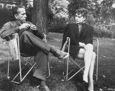 Audrey Hepburn and Humphrey Bogart, Sabrina, 1954