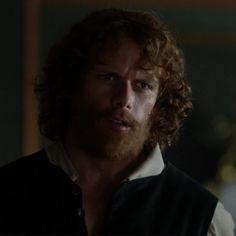 """Jamie Fraser (Sam Heughan) in Episode 207 """"Faith"""" of Outlander Season Two on Starz"""