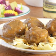 "Chef John's Swedish Meatballs | "" These were very good, better than the big box store meatballs."""