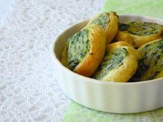 Petits feuilletés épinards, ricotta & parmesan
