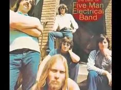"""Five Man Eletrical Band Signs - the """"Sign sign, everywhere a sign"""" song - on YouTube"""