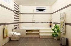 bình nóng lạnh ariston 20l ngang cho nhà tắm thêm dẹp, sang trọng hơn