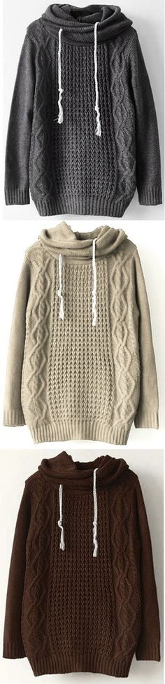 Love it, $31.99 Now & Free Shipping! Easy Return+Refund! Even if you aren't fireside you'll still be super warm in this sweater! Long and casual, it's so cuddly and warm!!!