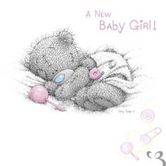 Tatty Teddy Bear - Girl