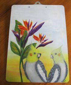 Cockatiels in Paradise