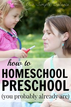 Are you wondering how to homeschool preschool? Read 21 ways we homeschool preschool (and even up through first grade) that you are probably already doing.