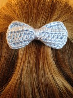 Blue Sophie bow