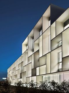 Volumes simples patchwork assemblage carré / Design Piuarch | Bentini Headquarters